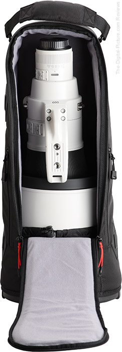 Canon EF 600mm f/4L IS III USM Lens Case Open