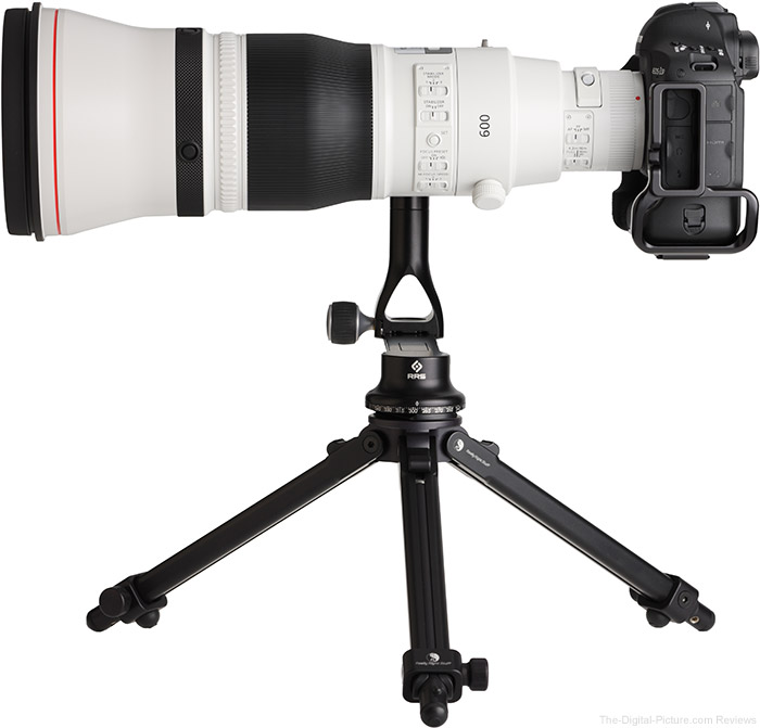 Canon EF 600mm f/4L IS III USM Lens Side View