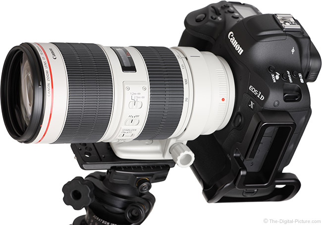 Canon EF 70-200mm f/2.8L IS III USM Lens Angle View