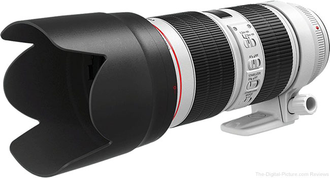 Canon EF 70-200mm f/2.8L IS III USM Lens with Hood