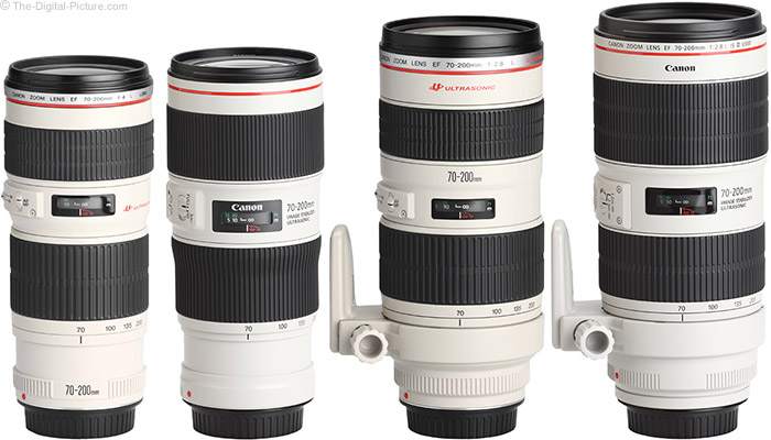 Canon EF 70-200mm f/2.8L IS III USM Lens Compared to Similar Lenses