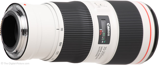 Canon EF 70-200mm f/4L IS II USM Lens Mount
