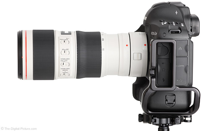 Canon EF 70-200mm f/4L IS II USM Lens with Teleconverter