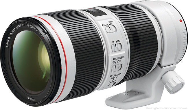 Canon EF 70-200mm f/4L IS II USM Lens with Tripod Mount Ring AII(WII)