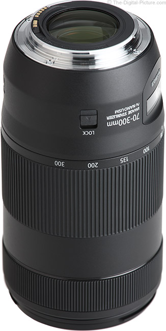 Canon EF 70-300mm f/4-5.6 IS II USM Lens Mount