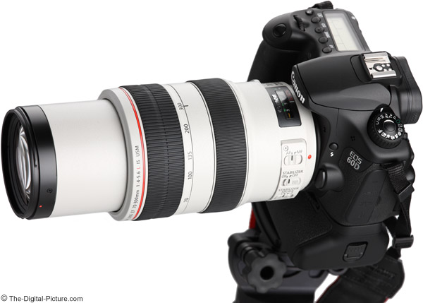 70-300 L IS Extended on Camera