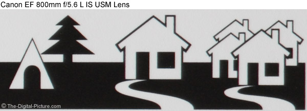 Canon Super Telephoto Lens Chromatic Aberration Comparison
