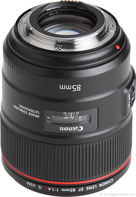 Canon EF 85mm f/1.4L IS USM Lens Mount