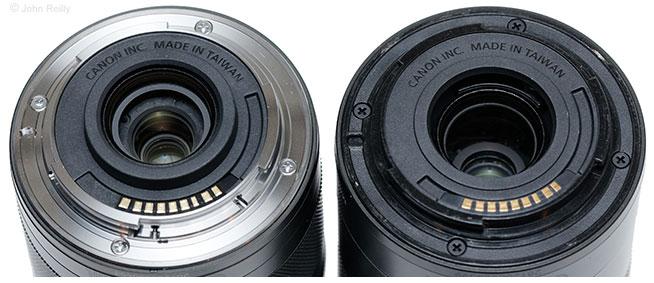 Canon EF-M 11-22mm IS STM vs. EF-M 55-200mm IS STM Lens Mounts