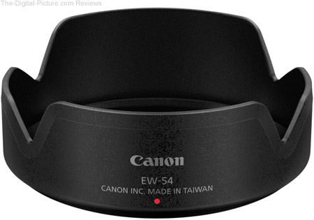 Canon EF-M 18-55mm f/3.5-5.6 IS STM Lens EW-54 Lens Hood