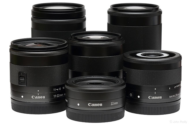 Canon EF-M Lens Group
