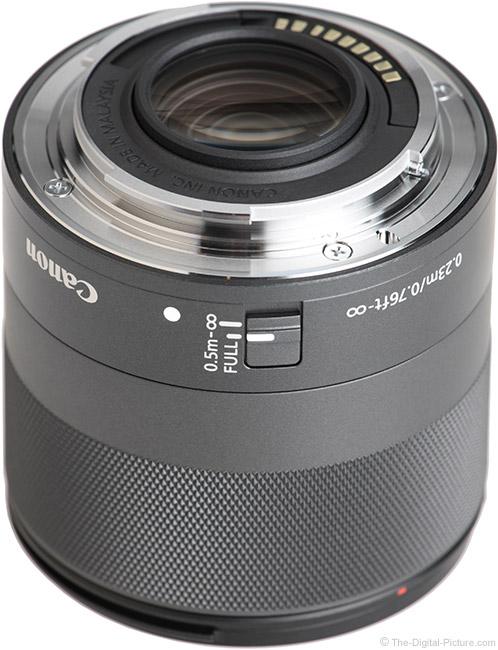 Canon EF-M 32mm f/1.4 STM Lens Mount