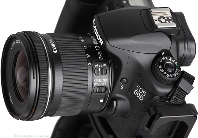 Canon EF-S 10-18mm f/4.5-5.6 IS STM Lens Angle View