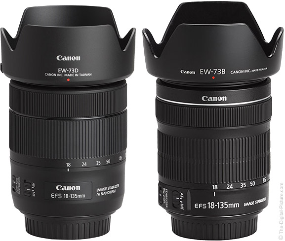 Canon EF-S 18-135mm IS USM Compared to STM Lens