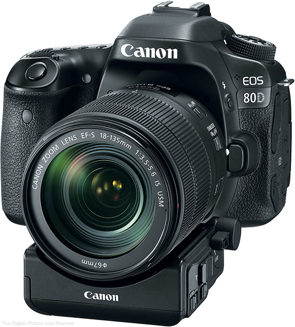 Canon Power Zoom Adapter PZ-E1 on Camera