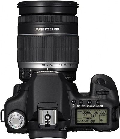 18-200 IS mounted to a Canon EOS 50D