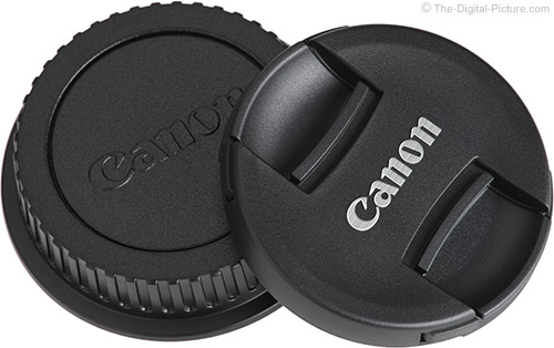 Canon EF-S 18-55mm f/4-5.6 IS STM Lens Cap