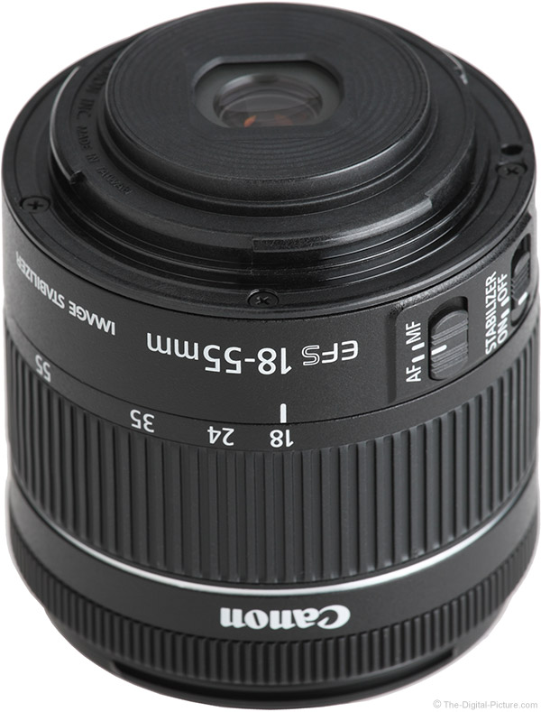 Canon EF-S 18-55mm f/4-5.6 IS STM Lens Mount