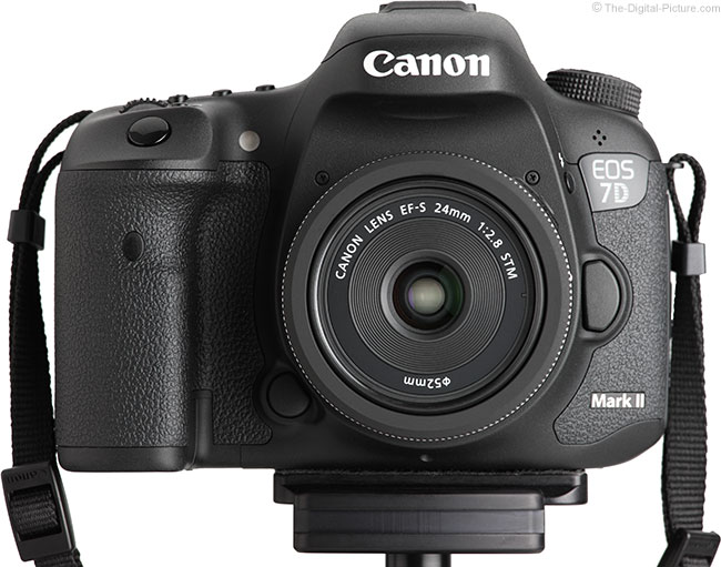 Canon EF-S 24mm STM Lens – Front View