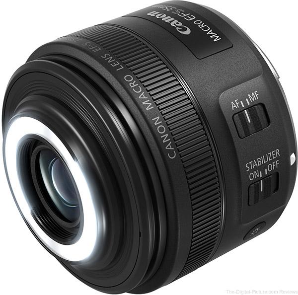 Canon EF-S 35mm f/2.8 Macro IS STM Lens Macro Lites