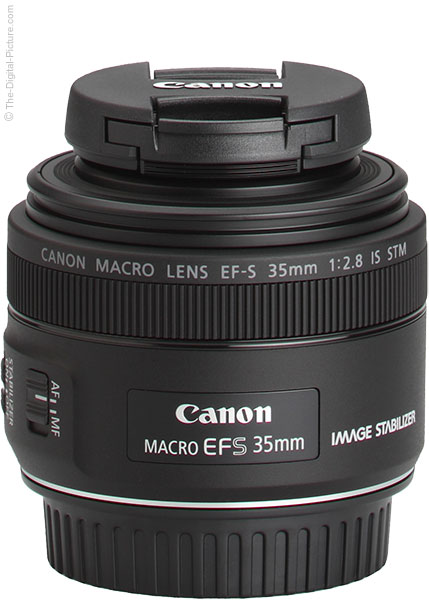Canon EF-S 35mm f/2.8 Macro IS STM Lens Cap