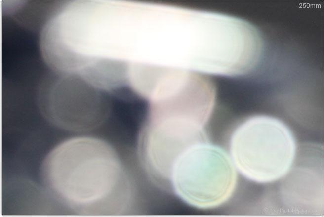 Canon EF-S 55-250mm f/4-5.6 IS STM Lens Bokeh