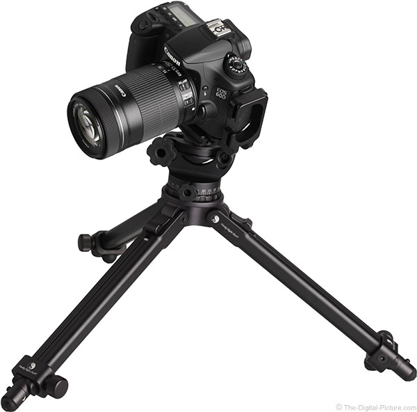 Canon EF-S 55-250mm IS STM Lens on Tripod