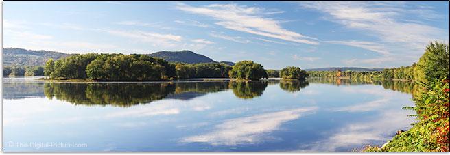 Susquehanna River Panorama