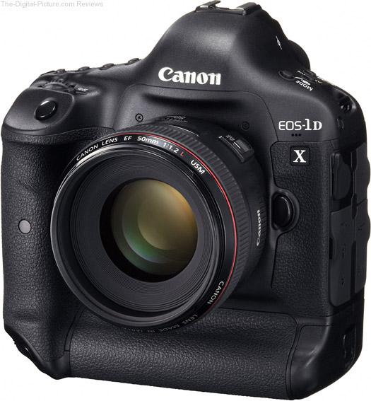 Canon EOS-1D X Front