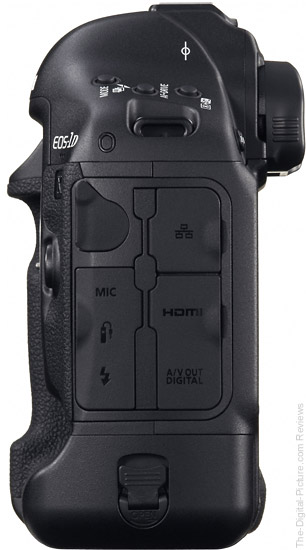 Canon EOS-1D X Side View