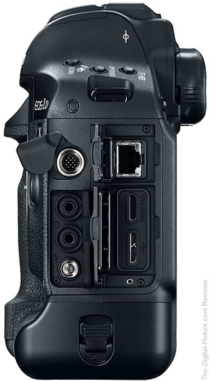 Canon EOS-1D X Mark II Side Views