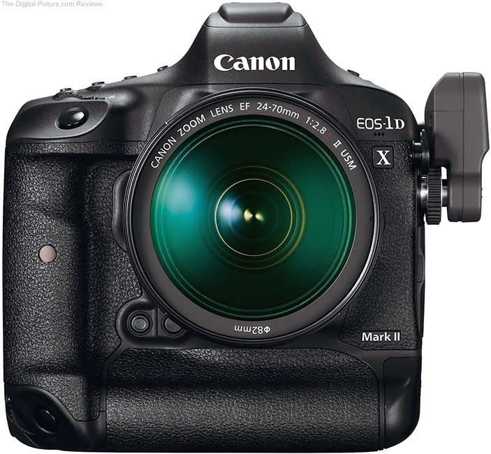 Canon EOS-1D X Mark II with Wireless File Transmitter WFT-E8A