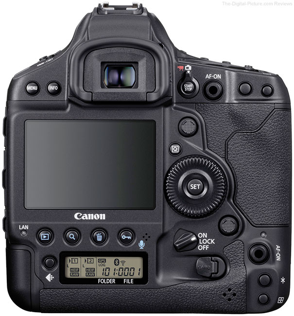 Canon EOS-1D X Mark III DSLR Camera Back