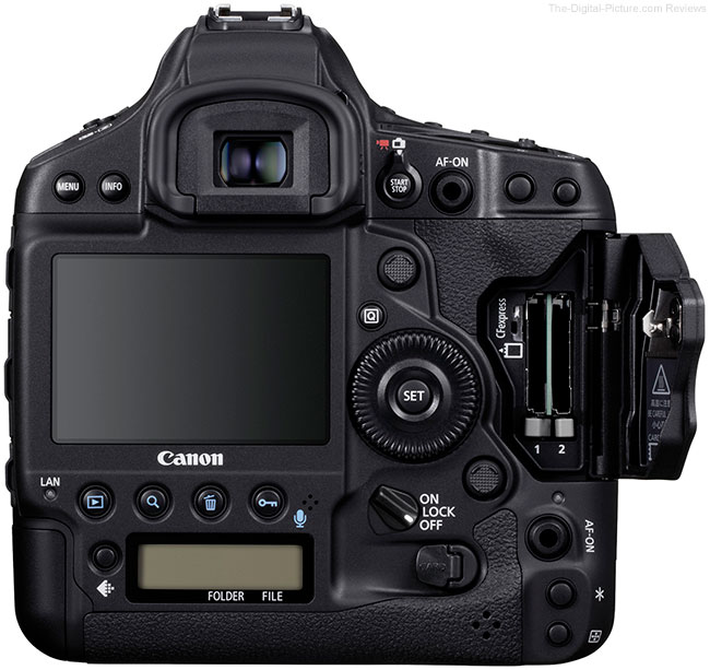 Canon EOS-1D X Mark III Card Slots