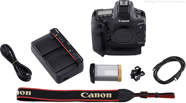 Canon EOS-1D X Mark III Bottom