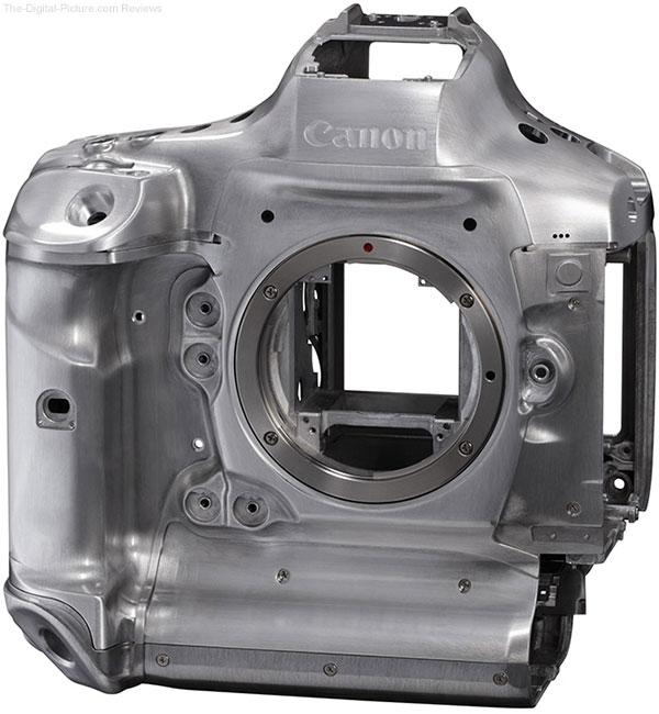 Canon EOS-1D X Mark III DSLR Camera Magnesium Alloy Frame