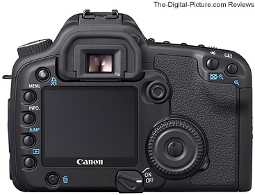 Canon EOS 30D Digital SLR Camera Back View