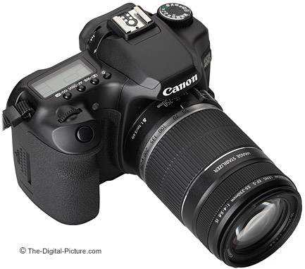 55-250 IS mounted on Canon EOS 40D