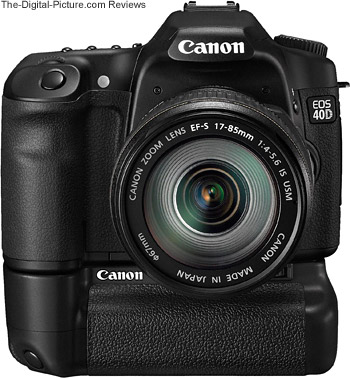 Canon EOS 40D with Battery Grip BG-E2N