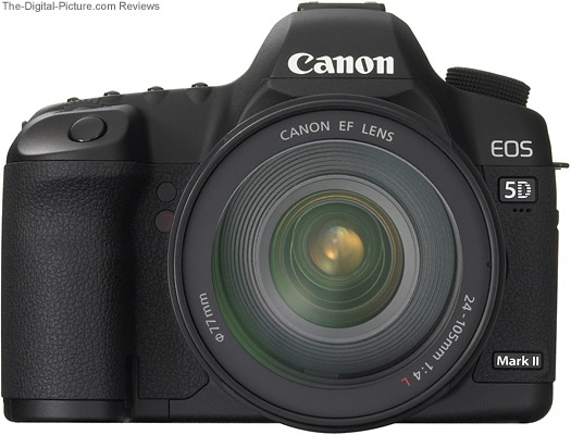 Canon EF 24-105mm f/4L IS USM Lens mounted on an EOS 5D Mark II