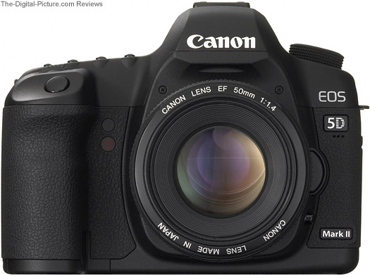 Canon EF 50mm f/1.4 USM Lens Mounted on a Canon EOD 5D Mark II DSLR