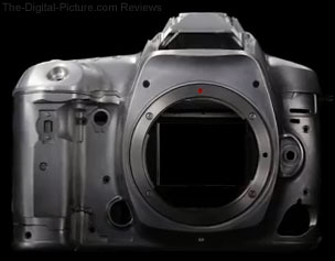 Canon EOS 5D Mark IV Magnesium Alloy Body Covers