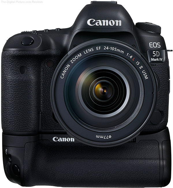 Canon EOS 5D Mark IV with BG-E20 Battery Grip