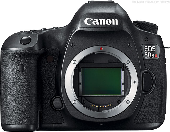 Canon EOS 5Ds R – Front View without Lens