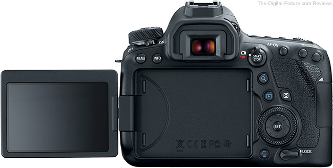 Canon EOS 6D Mark II Back