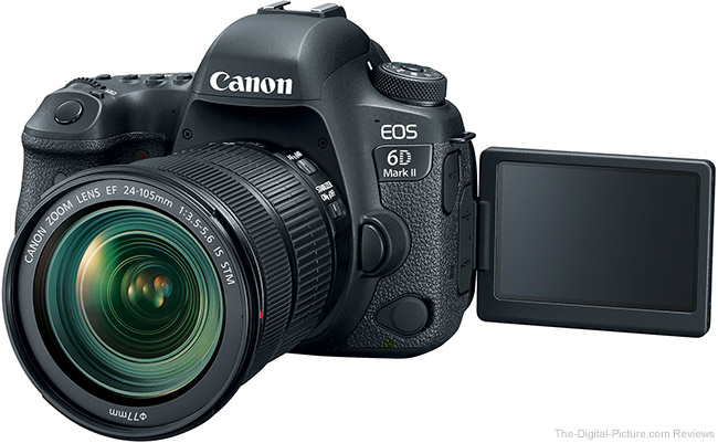 Canon EOS 6D Mark II LCD Open