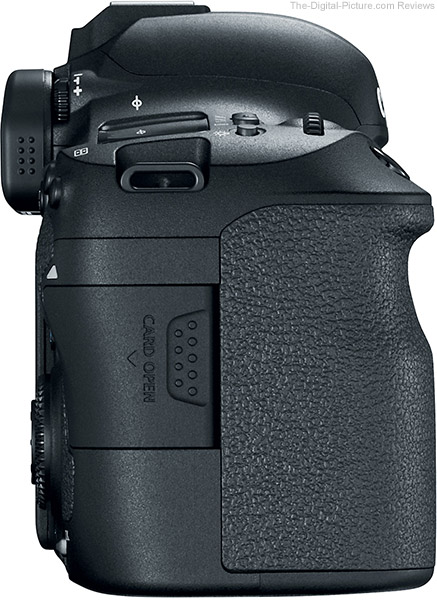 Canon EOS 6D Mark II Side
