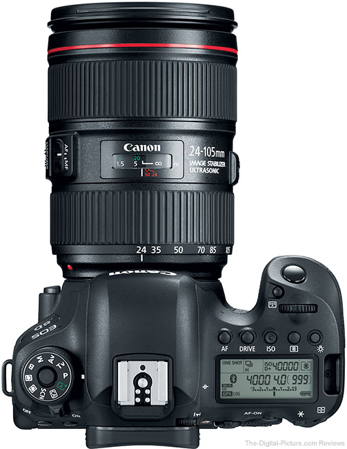Canon EOS 6D Mark II Top