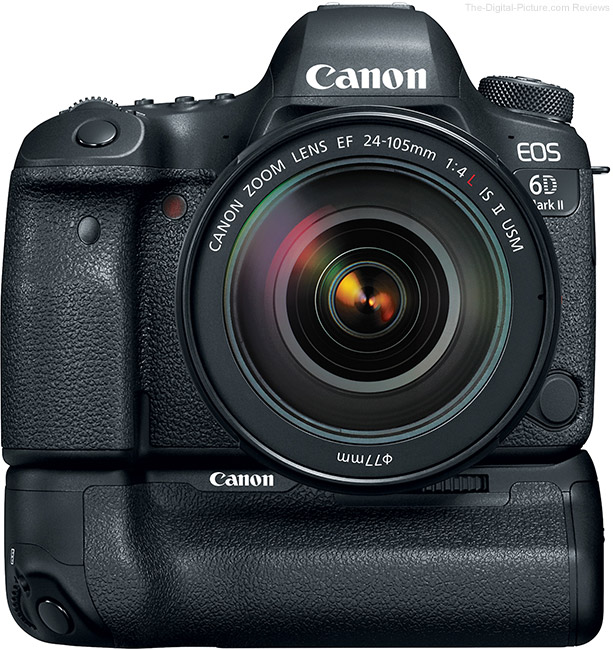 Canon EOS 6D Mark II with BG-E21 Battery Grip