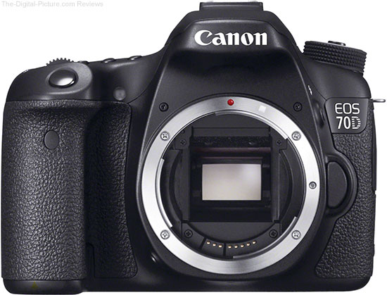 Canon EOS 70D with No Lens